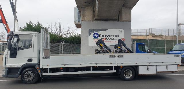 Cassone da 7 metri per Eurocargo pieno