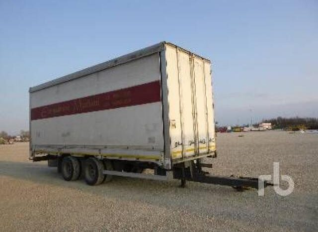 OMAR Biga 20Z82P T/A Curtain Side Centinata pieno