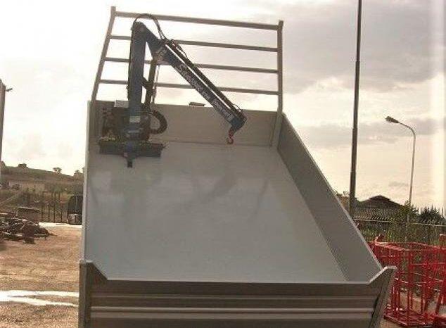 NISSAN Cabstar 35C13 Cassone Ribaltabile trilaterale pieno