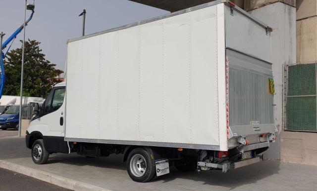 IVECO Daily 35C14 Box e Pedana 2018 Euro 6b pieno