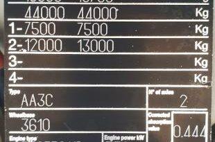 IVECO Trattore Stralis 460 cabina bassa corta Euro6 pieno