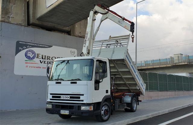 IVECO Eurocargo 75E14 Gru e Ribaltabile pieno
